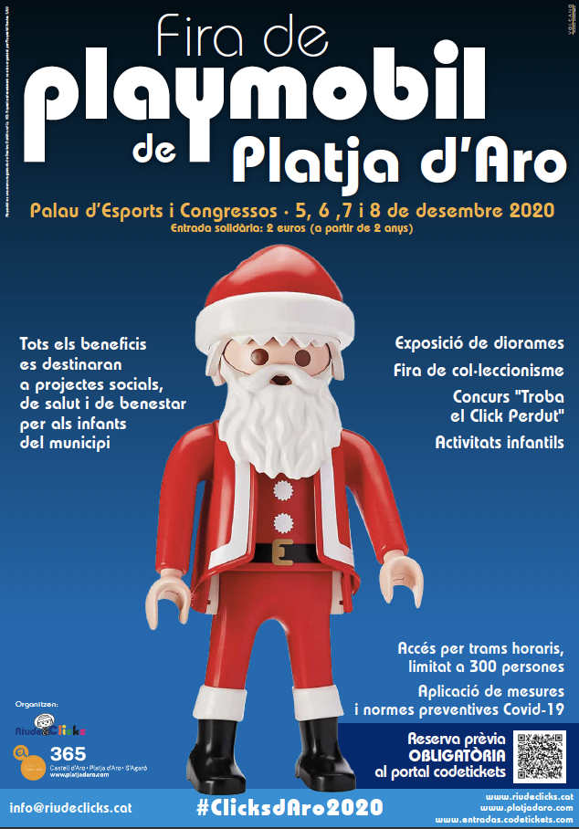 Cartell Fira Playmobil de PDA